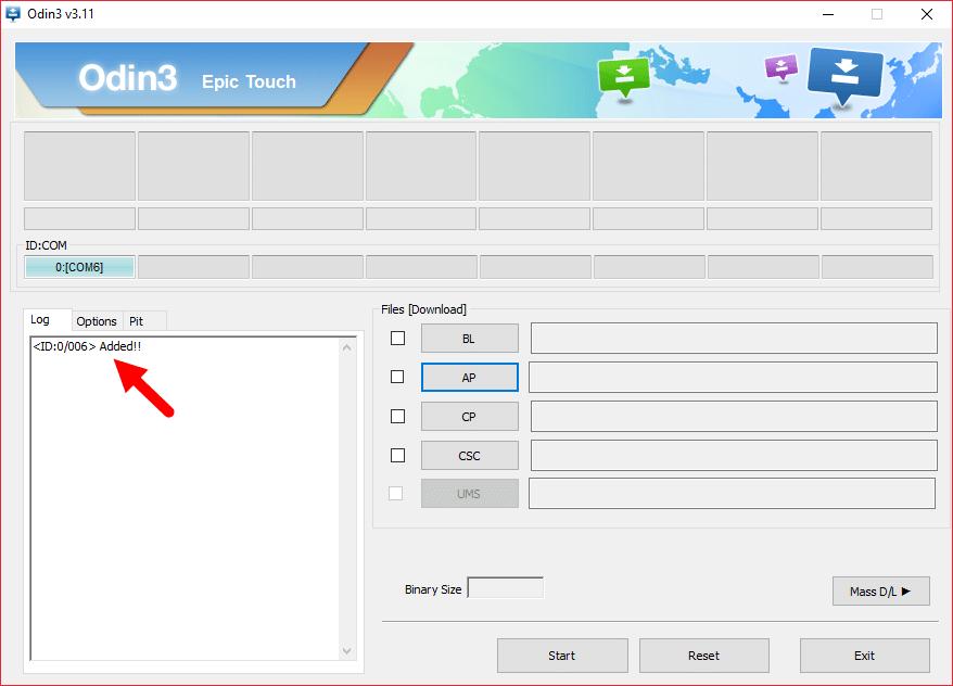 Samsung Odin 3 port added